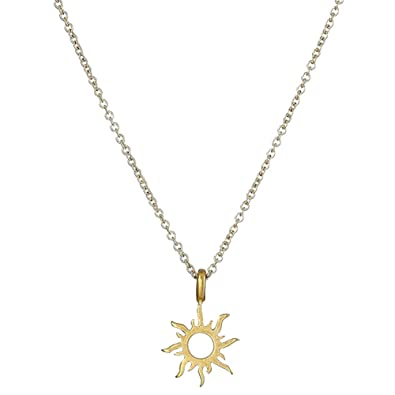 0853d3a5bf7 MSYOU Necklace Gold Alloy Ladies Short Necklace Creative Geometry Hollow  Sun Flower Necklace Girl Jewelry for Party Wedding Birthday: Amazon.co.uk:  ...
