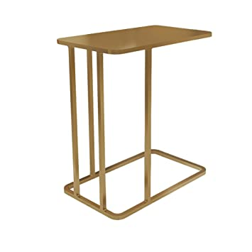 GLJ Scandinavian Sofa Edge Corner Coffee Table Modern Minimalist Small Apartment Moving Bed Table Creative Lazy Side Table Side Cabinet Folding Table