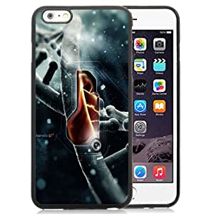 New Fashion Custom Designed Skin Case For iPhone 6 Plus 5.5 Inch With DNA Structure Phone Case Cover