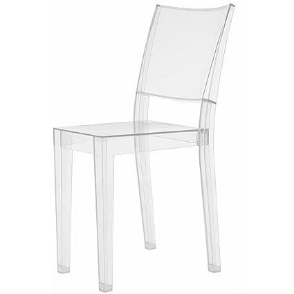 Kartell 4850B4 Stuhl La Marie glasklar: Amazon.de: Küche & Haushalt