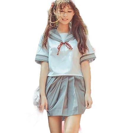 WJX Japonés Marinero Escuela Uniforme Cosplay, Chica Vestido ...