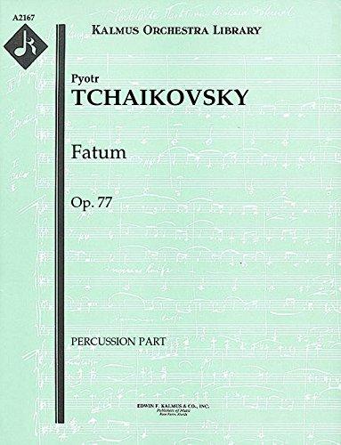 Fatum, Op.77: Percussion part (Qty 2) - Percussion 77