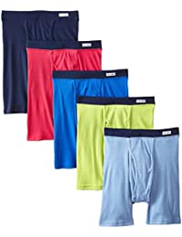Men's 5Pack Assorted ComfortSoft Boxer Briefs Underwear L