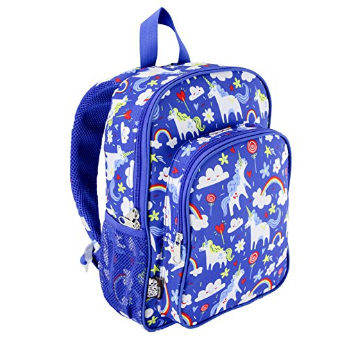 LONE CONE Kids' Canvas Preschool Backpack, Gary the Unicorn