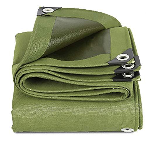 漏斗スロー薬GUOWEI-pengbu ターポリン キャンバス シェード 日焼け止め 防水 絶縁 アンチサン 厚い 屋外 (色 : Green, サイズ さいず : 7.8x3.8m)