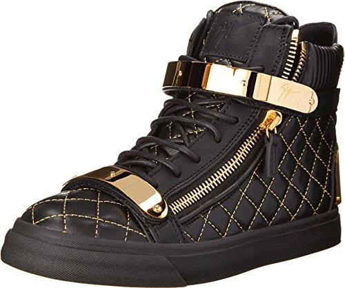 Giuseppe Zanotti Women's RW4068 Nappa Neropaco Sneaker 40 (US Women's 10) M