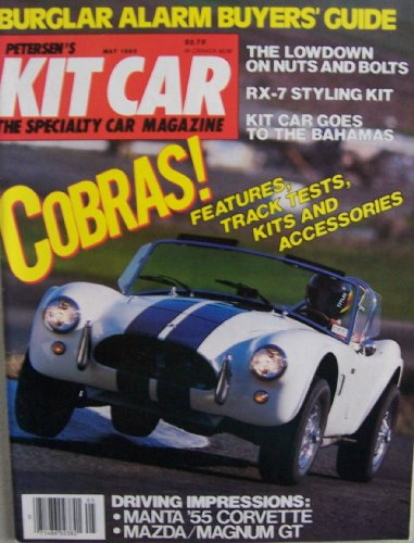 Petersen's Kit Car [ Vol. 4 No. 3, May 1985 ] The Specialty Car Magazine (Cobras! Features, Track Tests, Kits and Accessories, Driving Impressions: Manta '55 Corvette, Mazda/Magnum GT, Burglar Alarm Buyer's Guide) Corvette Alarm