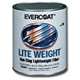 Light Weight? Non-Clog Lightweight Body Filler, Gallon-2pack by Fibreglass Evercoat