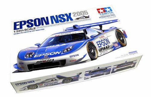 RCECHO® Tamiya Automotive Model 1/24 Car Epson NSX 2005 Scale Hobby 24287 with RCECHO® Full Version Apps Edition