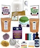 KKamp Continuous Brew Kombucha COMPLETE PACKAGE - White w/ Stand + Tee/Cap Set