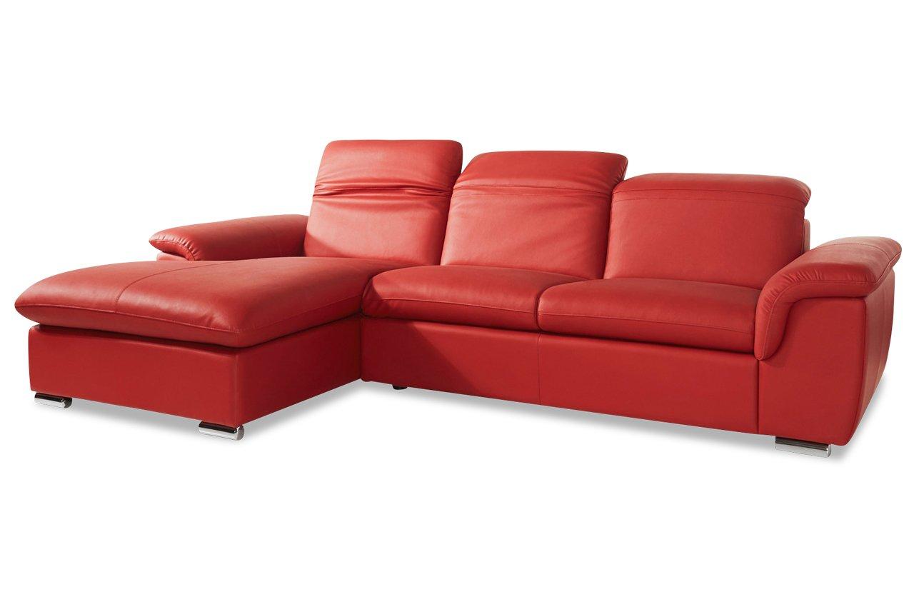 sofa polsterecke pablo leder avantage rot g nstig bestellen. Black Bedroom Furniture Sets. Home Design Ideas