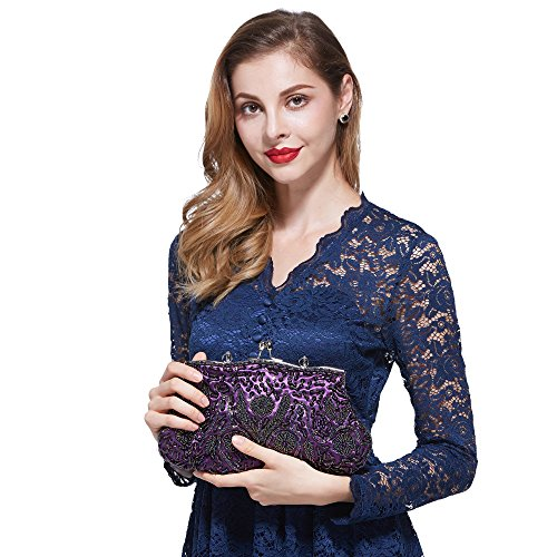 AYOZEN hombro al para Bolso mujer morado púrpura r4grwq
