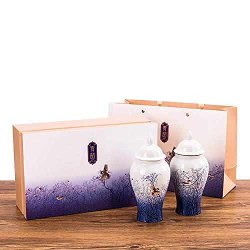 Wuyishan Tongmu guanjin Junmei tea black tea porcelain gift box , 500g (double tank)