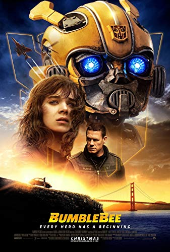Transformers Bumble Bee Poster - Bumblebee Poster 11x17 Inch Promo Movie Poster