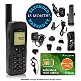 BlueCosmo Iridium 9555 Satellite Phone Bundle & Monthly Service Plan SIM Card - Voice, SMS Text Messaging - Online Activation - 24/7