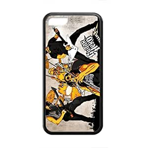 Rockband Modern Fashion Guitar hero and rock legend Phone Case for iphone 4/4s iphone 4/4s(TPU)