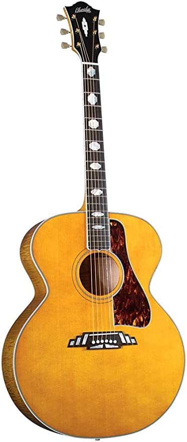 Blue Ridge BG-2500 Super Jumbo guitarra - madera de caoba: Amazon ...