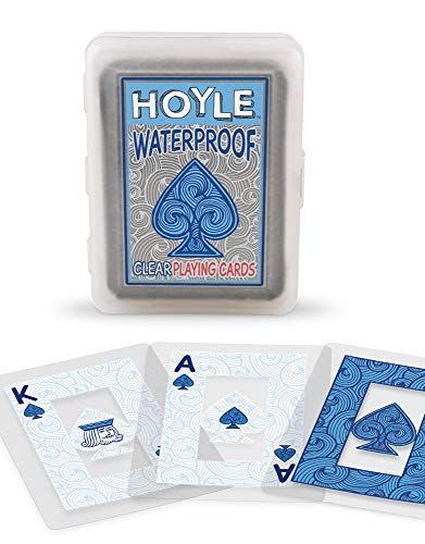 Hoyle Waterproof Clear Playing Cards (Insect Playing Cards)