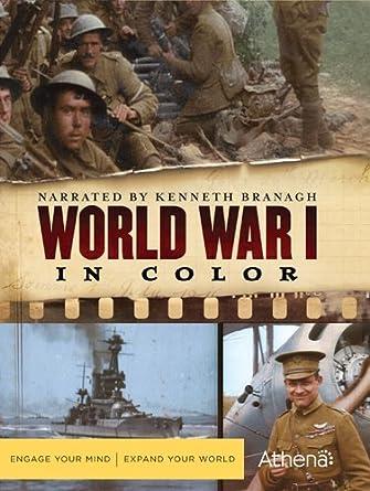 amazon com world war i in color kenneth branagh arthur rh amazon com