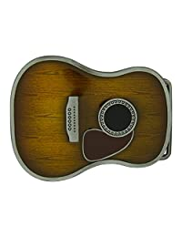 RIDE AWAY Acoustic Guitar Country Belt Buckle