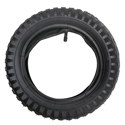 ZXTDR 12 1/2 x 2.75 (12.5 x 2.75) Tire and Inner Tube For Mini Pocket Bikes Razor Dirt Bike Rocket Dune Buggy
