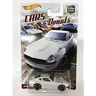 Hot Wheels Car Culture Cars and Donuts Set of 5 Real Rider Collectible Die Cast Toy: Toys & Games