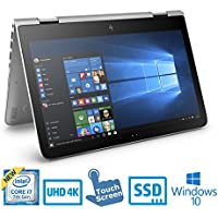 HP ENVY X360 13.3 4K Touch Screen Core i7-7500U 16GB, 512GB SSD 2-in-1 Laptop (Certified Refurbished)
