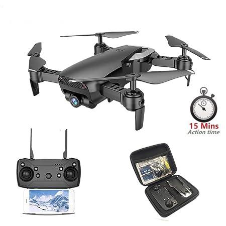 TIAO RC Drone con cámara 4K / 1080P Cámara Gran Angular WiFi HD ...