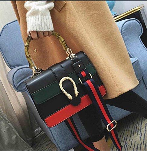 bb45b89c8e Women messenger Bag Women Handbag Shoulder bag cross body bag Tote Bags  with Bamboo handle 2017 NEW
