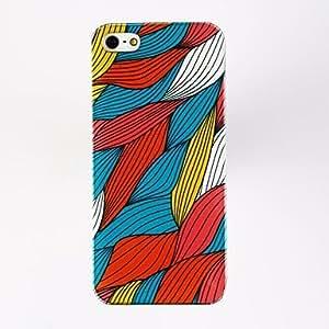 HP-Patrón de Diseño Especial Porlycarbonate Hard Cases para iPhone 5/5S , Multicolor