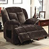 Coaster Power Lift Recliner-Chocolate