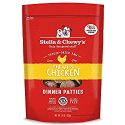 Stella & Chewy's Freeze-dried Raw Chewy's Chicken Dinner Patties Grain-free Dog Food, 25 Oz Bag