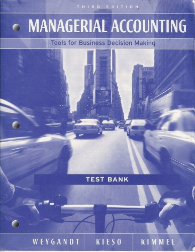 Test Bank of Managerial Accounting 15th Edition By Garrison