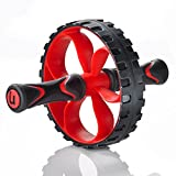 Premium Core Ab Wheel – Heavy Duty Home Gym Workout Trainer – Perfect for Weight Loss & Muscle Toning – Fitness Abdominal Exercise Equipment – Ab Wheel Roller for Men & Women Review