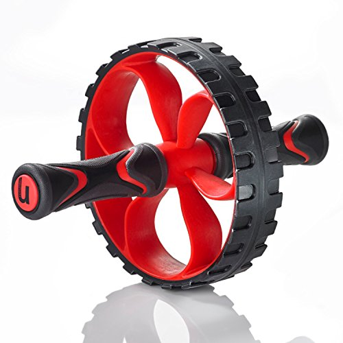 Premium Core Ab Wheel - Heavy Duty Home Gym Workout Trainer - Perfect for Weight Loss & Muscle Toning - Fitness Abdominal Exercise Equipment - Ab Wheel Roller for Men & Women