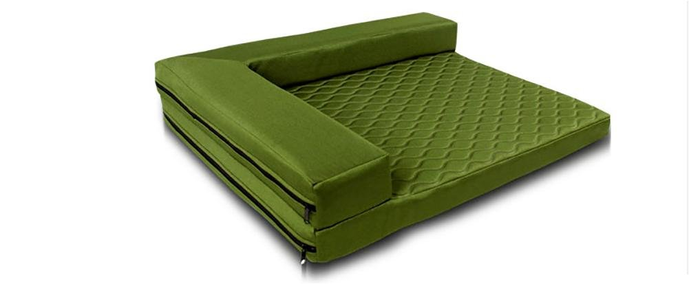 Green Medium green Medium DAN Deluxe Orthopedic Pet Bed Mattress for Dogs and Cats