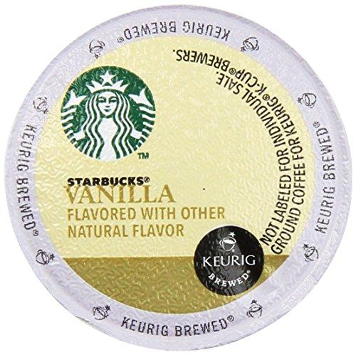 Starbucks Vanilla Coffee Keurig K-Cups, 16 Count