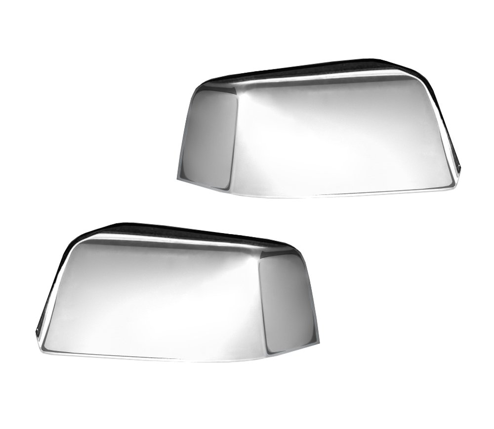 MaxMate Fit 1999-2000 Cadillac Escalade//1992-1999 Chevrolet Suburban//1995-1999 Chevrolet Tahoe//1995-1999 GMC Yukon Chrome Top Half Mirror Cover