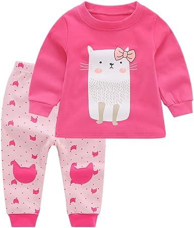 Pijamas para Niños, Niñas Pequeñas Primavera Otoño E Invierno ...