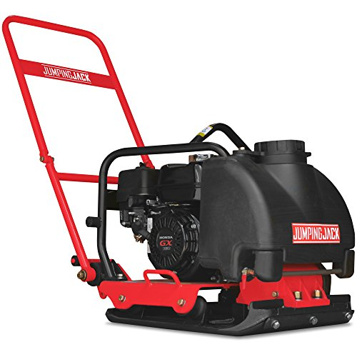 5.5 HP Vibratory Plate Compactor Asphalt/Soil Compaction with Honda Engine (JXPC85H with Water Tank)