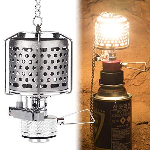 Herva Mini Portable Camping Lantern Gas Light Tent Lamp Torch Hanging Lamp (Propane Ignition Electronic Lantern)