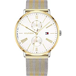 Tommy Hilfiger Womens Multi dial Quartz Watch with Stainless Steel Strap 1782074