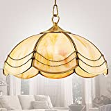 LoveScc Creative Chandeliers Home Lighting Living Room Dining Room Bedroom Chandeliers Continental All Copper  Balcony Corridor Outdoor Single Head Lights 22*31Cm