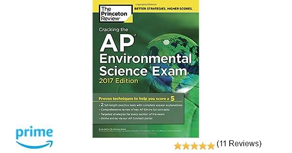 Amazon.com: Cracking the AP Environmental Science Exam, 2017 ...