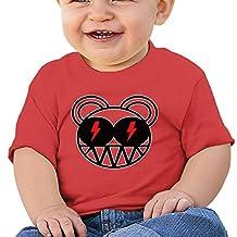 Sokie Radiohead ACDC Unisex Baby Toddler Shirts