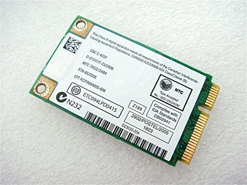 Intel 3945 3945abg Wm3945abg Mow1 Mow2 ROW Mini Pci-e Wireless Wlan Wifi Card Module - Notebooks Intel Vista