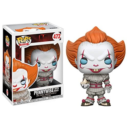 Funko Pop! Movies: It - Pennywise with Boat (Styles May Vary) Collectible Figure
