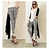 Fashion Lady Women Stretch Sexy Pencil Slim Fit Skinny Casual Trousers Pants