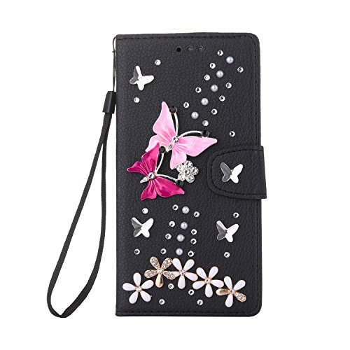 LG G4 beautiful Case, Handmade Magnet Diamond Flip for sale  Delivered anywhere in Canada
