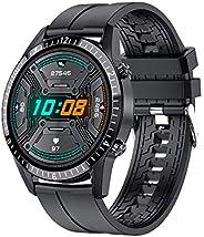 """Smart Watch 2021 Relógios para Homens Mulheres, Rastreador de Fitness 1.69 """"Tela de Toque Smartwatch Moni"""